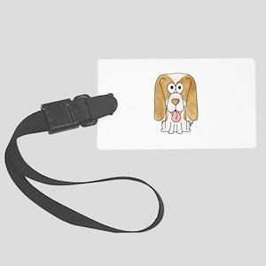 Beagle Puppy Dog. Large Luggage Tag