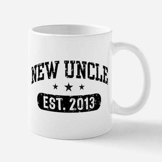 New Uncle Est. 2013 Mug