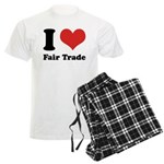 I Heart Fair Trade Men's Light Pajamas