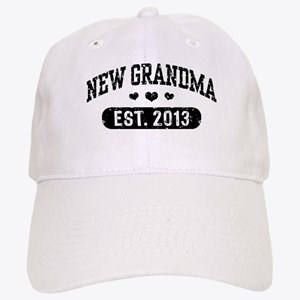 New Grandma Est. 2013 Cap