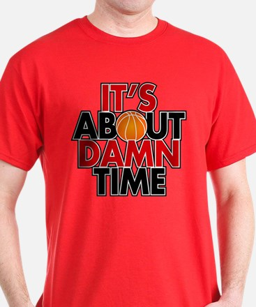 It's About Time Basketball T-shirt (Dark)