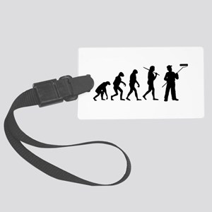 The Evolution Of The Painter Large Luggage Tag