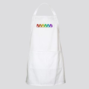 Happy Rainbow Cats Apron