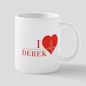 I love Derek Mug