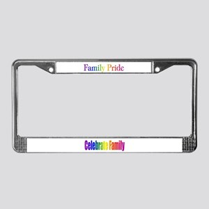 Family Pride License Plate Frame