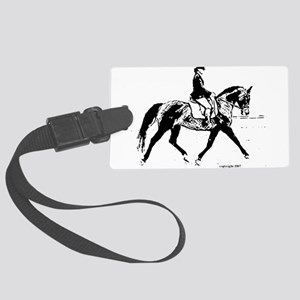 AFTM Dressage BW Large Luggage Tag