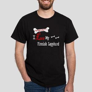 NB_Finnish Lapphund Black T-Shirt