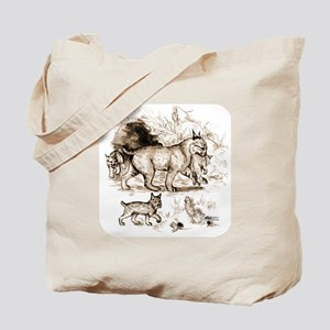 Bobcat Family Tote Bag