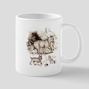 Bobcat Family Mug
