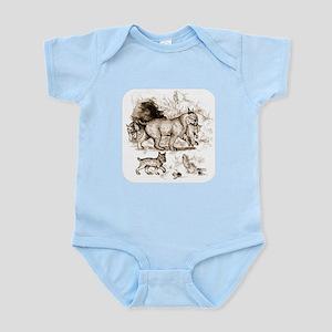 Bobcat Family Infant Bodysuit