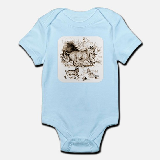 Bobcat Family Infant Bodysuit