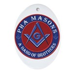 PHA Brothers Ornament (Oval)