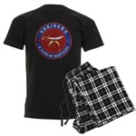 Shrine Brothers. Men's Dark Pajamas