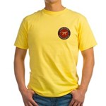 Shrine Brothers. Yellow T-Shirt