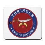Shrine Brothers. Mousepad