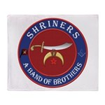 Shrine Brothers. Throw Blanket