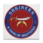 Shrine Brothers. Tile Coaster