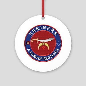 Shrine Brothers. Ornament (Round)
