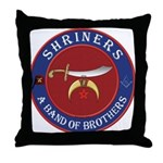 Shrine Brothers. Throw Pillow