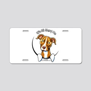 Pit Bull IAAM Aluminum License Plate