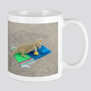 Yoga Spiny the Lizard Mug