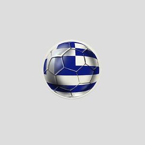 Greece Football Mini Button