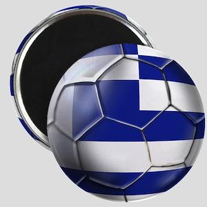 Greece Football Magnet
