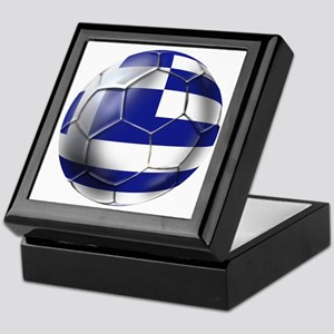 Greece Football Keepsake Box