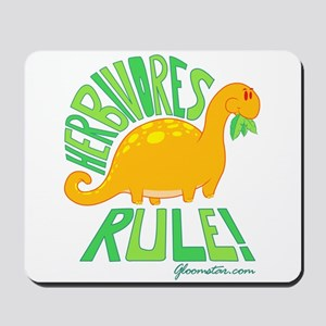 Herbivores Rule! Mousepad