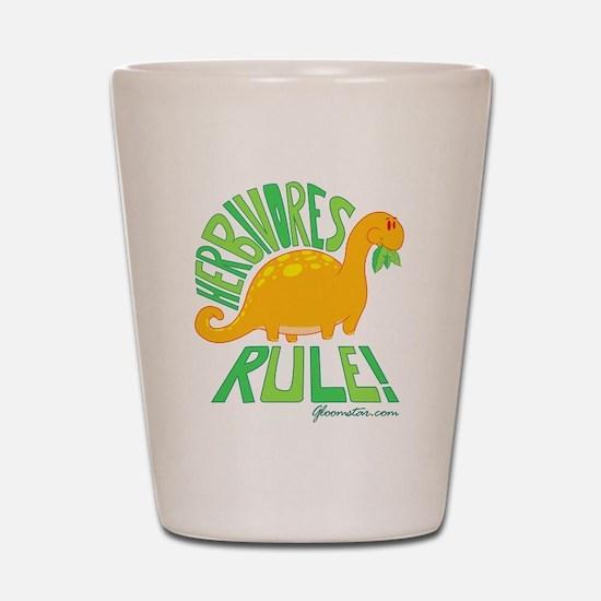 Herbivores Rule! Shot Glass