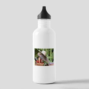 Gardener Spiny the Lizard Stainless Water Bottle 1