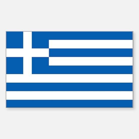 Flag of Greece Sticker (Rectangle)