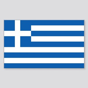 Flag of Greece Sticker (Rectangle 10 pk)