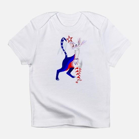 An American Cat Infant T-Shirt