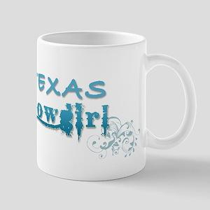 Texas Cowgirl (Blue) Mug