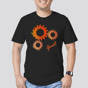 Guest Fire Wheels Men's Fitted T-Shirt (dark)