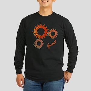 Guest Fire Wheels Long Sleeve Dark T-Shirt