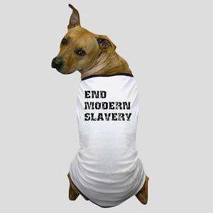 End Modern Slavery Dog T-Shirt