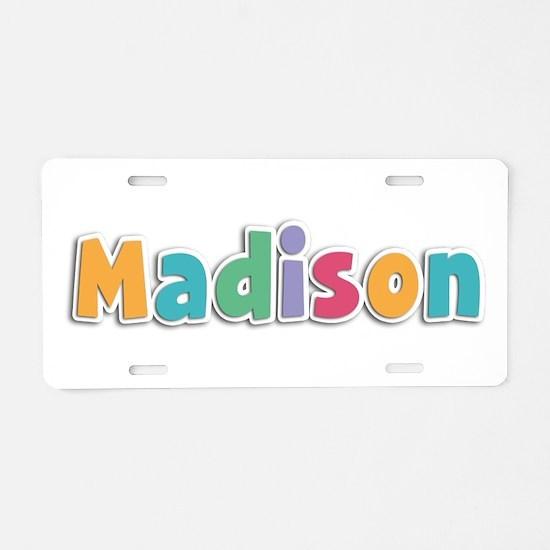 Madison Spring11 Aluminum License Plate