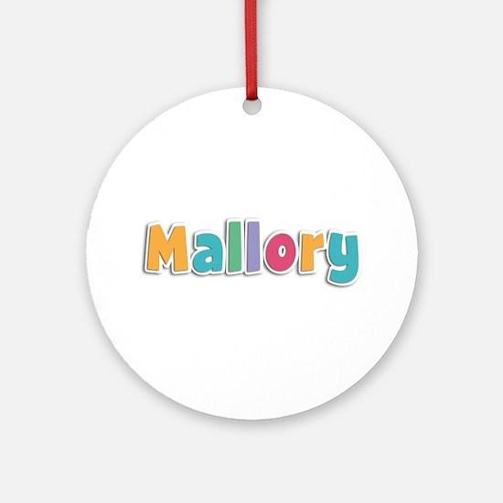 Mallory Spring11 Round Ornament