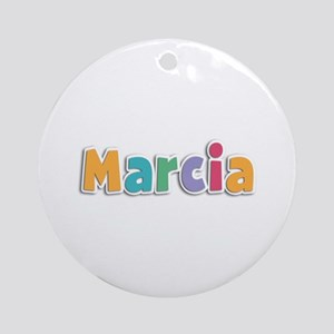 Marcia Spring11 Round Ornament