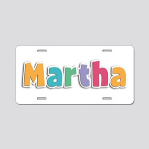 Martha Spring11 Aluminum License Plate