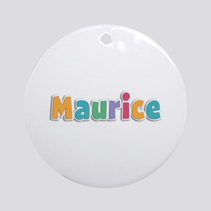 Maurice Spring11 Round Ornament