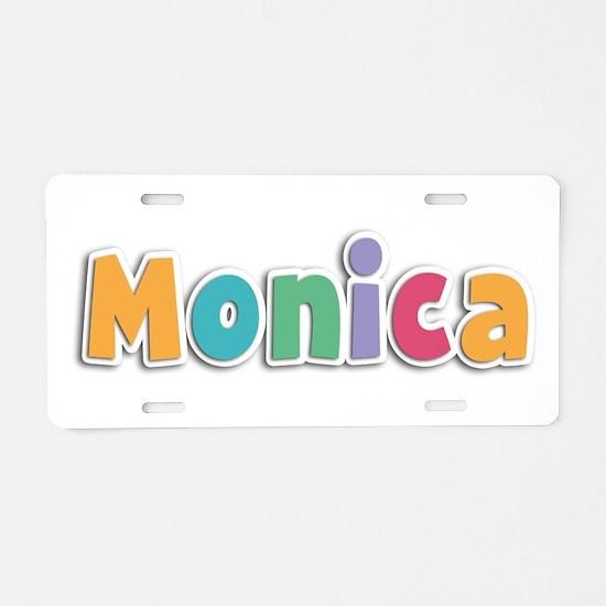 Monica Spring11 Aluminum License Plate