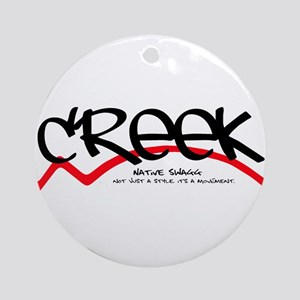 Creek Ornament (Round)