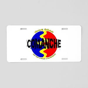 comanche Aluminum License Plate