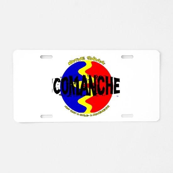 comanche.png Aluminum License Plate