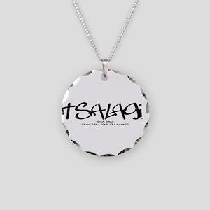 TsalagiTag copy Necklace Circle Charm