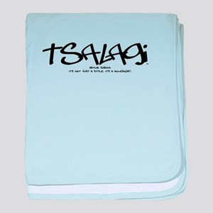 TsalagiTag copy baby blanket