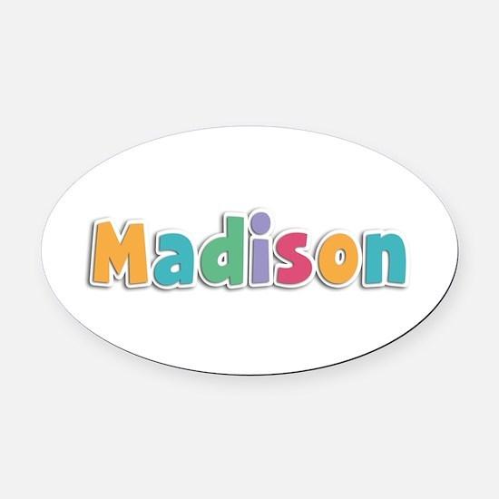 Madison Spring11 Oval Car Magnet